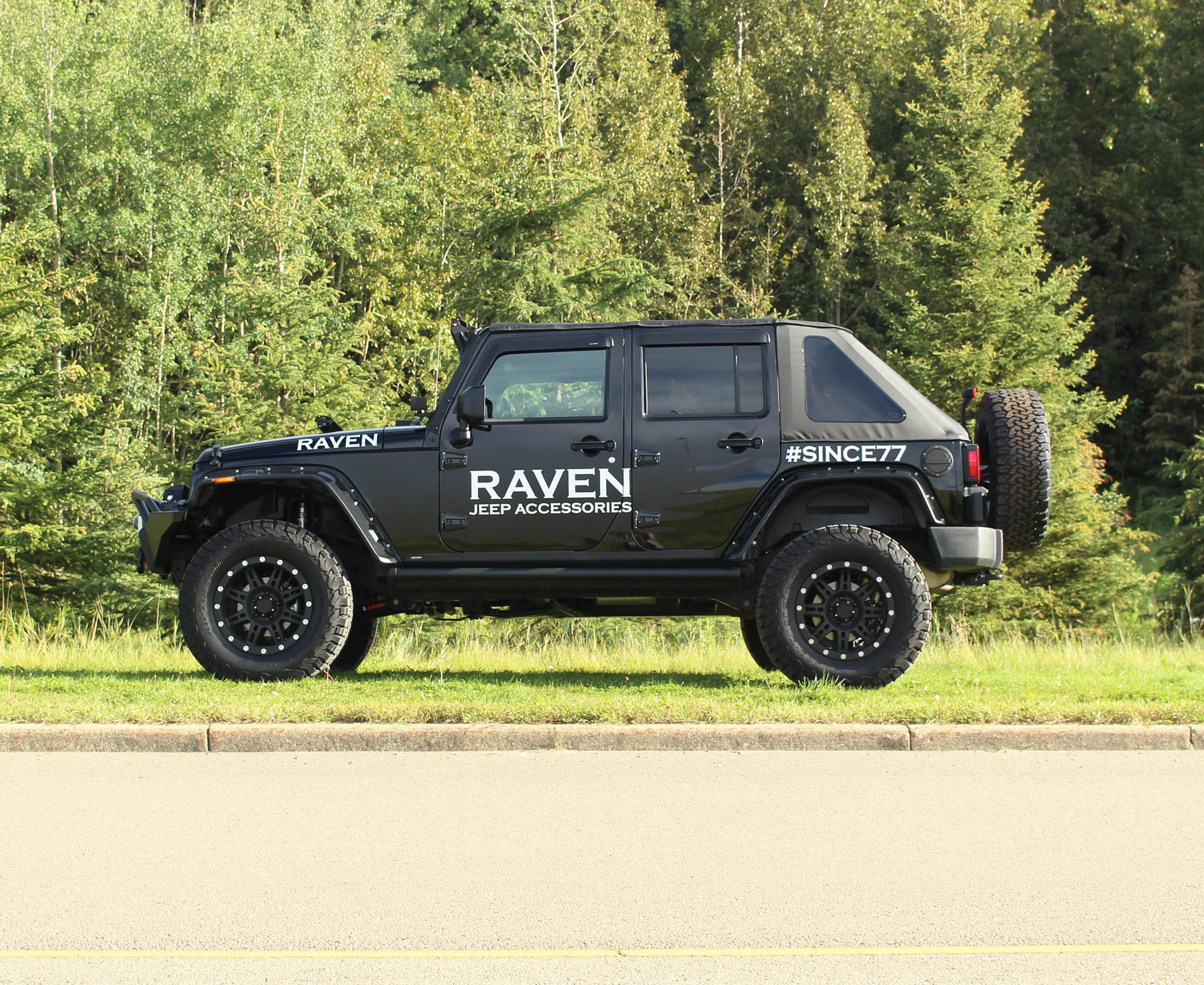 U201cThe Ravenu201d 2013 Jeep Wrangler