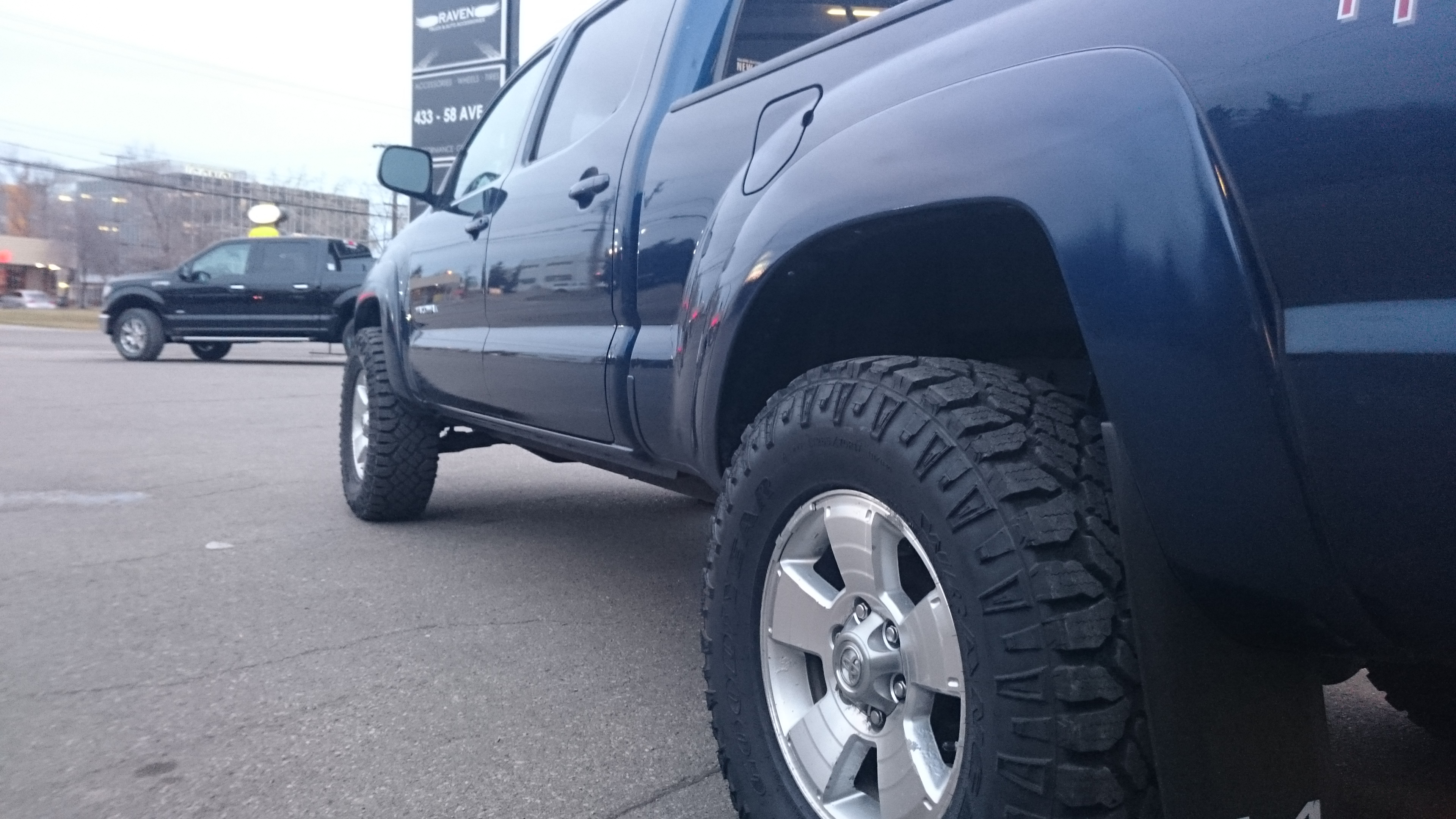 2007 Toyota Tacoma Raven Truck Accessories Install Shop